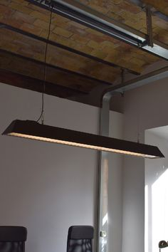 OPERA lamp in office #industrialstyle #ceilinglamps
