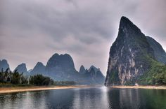 Yellow Cloth Shoal - Lijiang River, Guilin, China by dmmcc, via Flickr