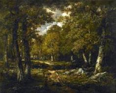 "Narcisse Virgile DIAZ DE LA PEÑA: ""Clearing in the Woods"", Oil on canvas, 65 x 81 cm, Private collection."