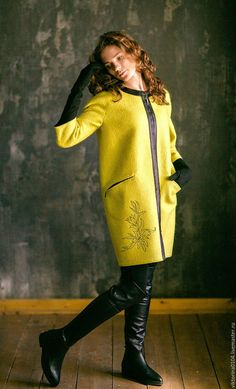 """Верхняя одежда ручной работы. Пальто """"Лили"""". Viktoriya Kupriyanova. Интернет-магазин Ярмарка Мастеров. Цветочный, волокна шёлка и вискозы"""