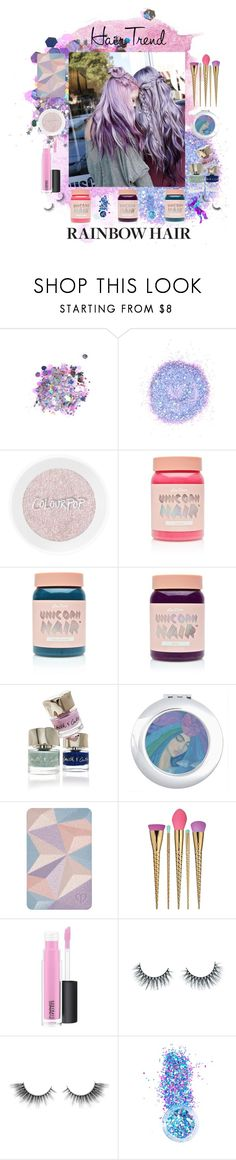 """""""Unicorn!"""" by smithsinspiration ❤ liked on Polyvore featuring beauty, The Gypsy Shrine, Lime Crime, Smith & Cult, Clé de Peau Beauté, tarte, MAC Cosmetics, Unicorn Lashes, In Your Dreams and Beauty"""