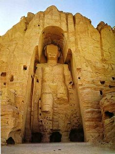 Cultural Landscape and Archaeological Remains of the Bamiyan Valley, Afghanistan - a UNESCO World Heritage site.