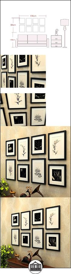 Fácil Negro-Blanco-Foto-pared de flores  ✿ Regalos para recién nacidos - Bebes ✿ ▬► Ver oferta: http://comprar.io/goto/B01LWXAS2Q