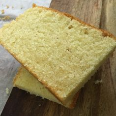 Semolina Butter Cake adapted from here Ingredients: Butter (salted) Caster sugar milk 5 large eggs, separated flour 1 tsp baking powder semolina, lightly toasted almon… Sugee Cake, No Bake Cake, Sweets Recipes, Baking Recipes, 1234 Cake, Semolina Cake, Semolina Recipe, Pear Cake, Crazy Cakes