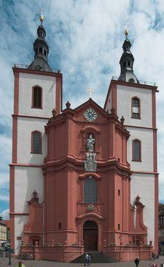 St. Blasius or simply Stadtpfarrkirche in Fulda