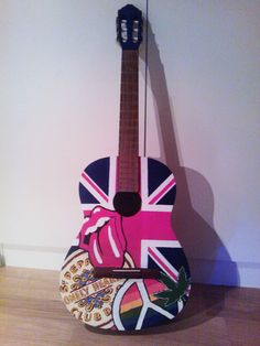 Hand painted guitar :D and maybe some lessons :)