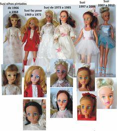 Boneca Susi de 1966 a 2014