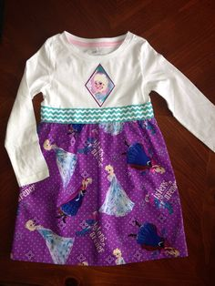 Frozen dress on Etsy, $35.00