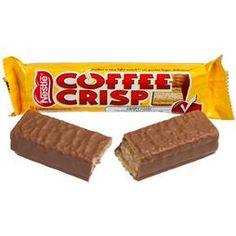 Nestle Coffee Crisp Candy Bars