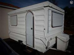 caravane pliante rigide fleurette 1976 longueur avec fleche 5m50 longueur sans fleche 4m60 pv 495kg ptc700kg