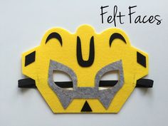 One set of 6 Rescue Bots party masks, one of each style shown in the photo. Each mask is made with premium felt, and has a black elastic band sewn to each side Superhero Mask Template, Rescue Bots Birthday, Transformer Birthday, 6th Birthday Parties, Third Birthday, Great Halloween Costumes, Paw Patrol Party, Crafts For Boys, Graduation Party Decor