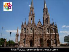 VACACIONES EN MICHOACÁN. Te habla del Santuario Guadalupano. Ubicado en Zamora, es un monumento histórico de gran atracción turística y sus torres son consideradas las más altas de México con una altura de 107.5 metros. Su construcción comenzó desde 1898 y fue terminada hasta 1990 cuando se retomó su construcción. http://www.posada-yolihuani.com/ Posada Yolihuani.