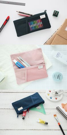 Highly useful and versatile, smart designs of A Low Hill Long Mesh Pouch make it lot more convenient to carry my belongings.