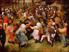 The Wedding Dance by Pieter the Elder Bruegel