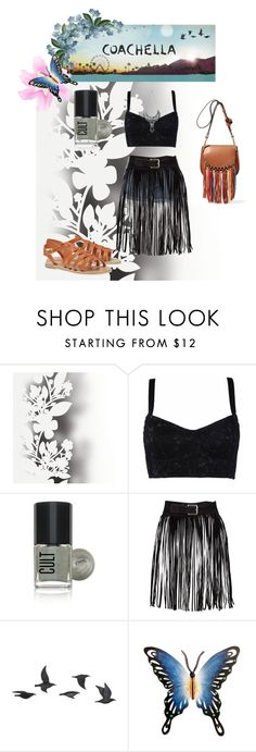 """""""Coachella"""" by fashionlover6901 ❤ liked on Polyvore featuring Élitis, H&M, Jayson Home, Forget Me Not and NOVICA"""
