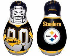 Pittsburgh Steelers - Mini Tackle Buddy Punching Bag - NFL - Multi-Color  #FremontDieInc #PittsburghSteelers