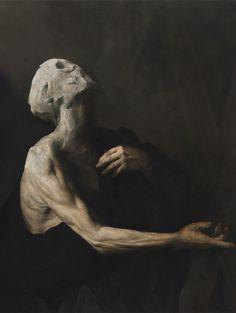 365 Days Of Dark Art : 297 / Nicola Samori Working so much with photography myse… - Classic Art Aesthetic Painting, Aesthetic Art, Aesthetic Drawing, Aesthetic Outfit, Aesthetic Clothes, Arte Horror, Horror Art, Art Sinistre, Art Noir