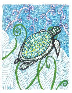 Sea turtle 5.17.12