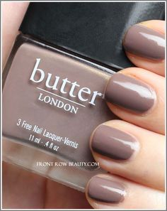 My favorite fall color- putty meets mushroom. Butter LONDON Fash Pack $14 butterlondon.com or ULTA