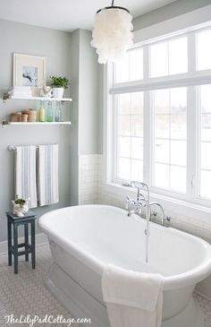 DIY:: Beautiful  Master Bathroom With a View !