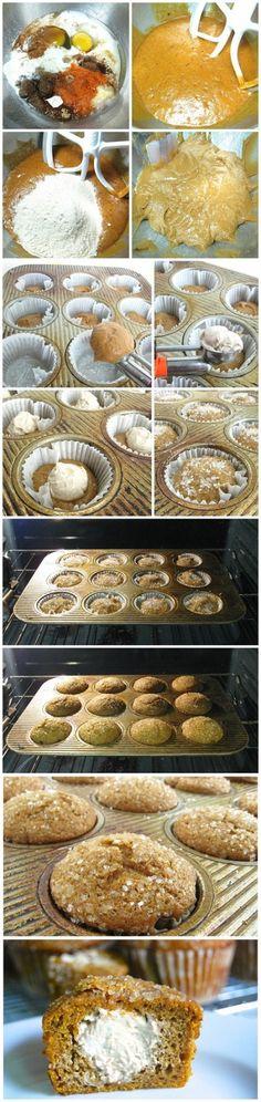Inside-Out Pumpkin Muffins Recipe