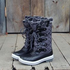 Smoke & Frost Snow Boots: Alternate View #1