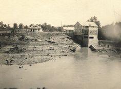 View of Pierces Mill showing Murfreesboro, Pierce, & Ridley limestones.