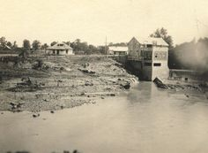 View of Pierces Mill showing Murfreesboro, Pierce, & Ridley limestones.