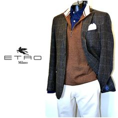 Get ready for the week with this Etro sport coat, Peter Millar sweater vest, Giannetto Portofino shirt and Duck Head slacks. Only at Flip! To purchase, call (615) 256-3547. We ship! Featured items: Etro sport coat (40R) New With Tag price $1595 Flip price $598, Peter Millar vest (M) $48, Giannetto Portofino shirt (M) $98, Duck Head slacks (33) $48 - #nashville #flipnashville #consignment #menswear #designerconsignment #nashvillenow #etro #petermillar #giannettoportofino #duckhead