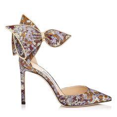 Decollete fiocco in broccato Bow brocade pumps  shoes  pumps  heels  fw2019  Scarpe d16fb369483