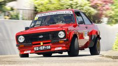 Ford Escort RS 2000 Escort Mk1, Ford Escort, Ford Classic Cars, Rally Car, Retro Cars, Old School, Transportation, Racing, Group
