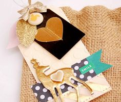 Crate Harvest :: Open Book Burlap Gift Bags & Tags