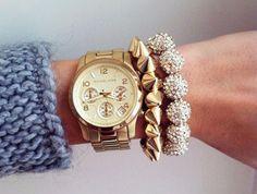 jewels michael kors watch spiked bracelet diamond bracelet