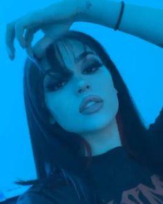 Maggie Lindemann, Bad Girl Aesthetic, Aesthetic Grunge, Edgy Makeup, Hair Makeup, Grunge Makeup, Soft Grunge Hair, Grunge Girl, Tmblr Girl