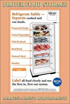 Temperature Chart Template Hazardous Food Temperature