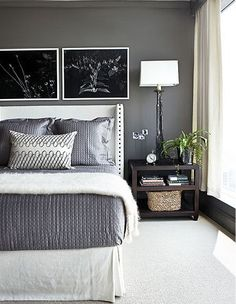 paint color for bedroom Bedroom Bedroom design - Home and Garden Design Ideas so simple - so nice guest bedroom decor Decor, Home Bedroom, Bedroom Makeover, Bedroom Decor, Interior Design, Home Decor, House Interior, Home Deco, Remodel Bedroom