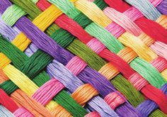 Thread weights can be so confusing! Let's demystify thread, shall we? With thread, the general rule is that the higher the weight number the thinner the thread. This means a thread is finer/thinner than a thread. Wallpaper Hd Samsung, Cool Wallpaper, Mobile Wallpaper, Wallpaper Wallpapers, Note, Wood Print, Rainbow Colors, Rainbow Things, Vibrant Colors