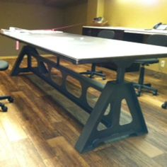 HomeMade Modern DIY EP Conference Table Options Design - Homemade conference table
