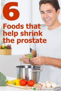 Get ready to LOVE these beverages and foods that shrink the prostate.