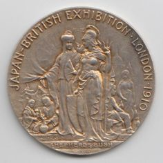 Solid Silver Medal awarded to the Loco Vapour Gas Light Company Ltd at the Japan (Japanese) British Exhibition 1910