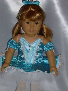 Still Waters Dance Costume for an 18 inch by DancinDollsDesigns, $15.00