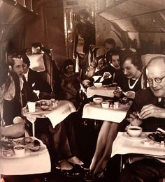 Vintage Menus 1950s | fly the friendly skies- vintage airline photos - noelle o designs