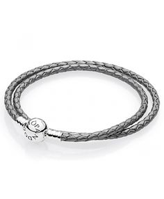 leather - buy fabulous pandora bracelets unique moments, leather, rose gold and silver designs, up to off all the latest must have looks! Pandora Uk, Cheap Pandora, Pandora Leather, Leather Charm Bracelets, Pandora Bracelet Charms, Rose Gold, Charmed, Grey, Black Friday