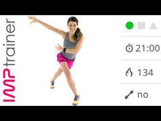 Allenamento Completo Per Tonificare Gambe e Glutei Con Esercizi Senza Salti - YouTube