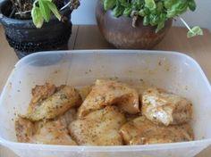 Pierś kurczaka nadziewana pieczarkami  i serem