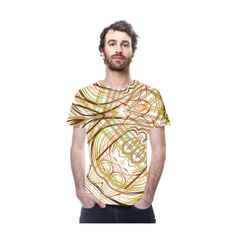 oarttee.com found on Polyvore designer fashion tee-shirts for men in cool autumn colors