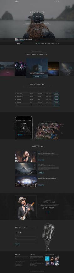 Nava Ultimate Multimedia PSD Template - Download theme here : http://themeforest.net/item/nava-ultimate-multimedia-psd-template/13703961?ref=pxcr
