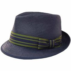 Navy Pinched Fedora ,one of our picks xx