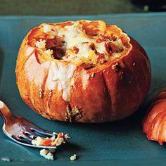 26 Ways with Stuffed Vegetables: Quinoa-Stuffed Squash Recipe | http://CookingLight.com
