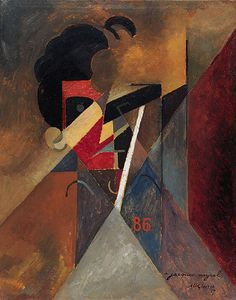 Albert Gleizes (French, 1881-1953), To Jacques Nayral, 1917. Oil on board, 75.88 cm x 65.08 cm.